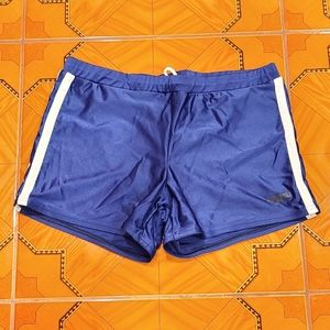 Mens Speedo Swim Trunks Blue Size Small